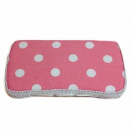 AB-66 Blush Dots Baby wipes case