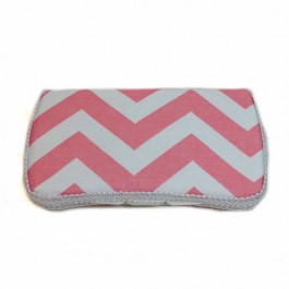 AB-67 Chevron Blush Baby wipes case
