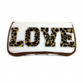 Wild LOVE White wipes case