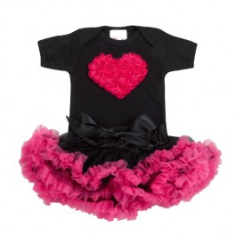 NEW!! Hot Pink and black tutu