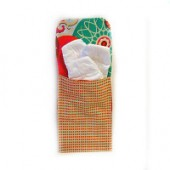 AB-38 Pumpkin Seeds- Diaper and Wipes Pouch