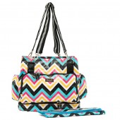 Carryall Chevron Diaper Bag