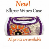 New! Ellipse Baby Wipes Case