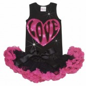 New! Glitzy Love Tutu Set