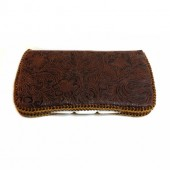 Leather brown Baby wipes cases diaper bag accessory