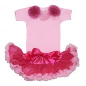 Cotton Candy Hot Pink Tutu Set