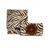 NEW!!! Chocolate Zebra- Travel Duo Set