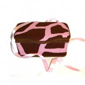 NEW!! Little Giraffe Pink- Animal Print Nursery Wipes Case