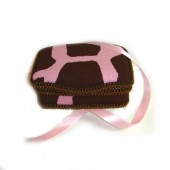 NEW!! Little Giraffe Pink- Signature Petite Wipes Case