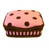 NEW!! Pink Cupcake- Signature Petite Wipes Case