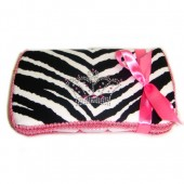 NEW! Zebra with Bling Crown- Bling Wipes Case
