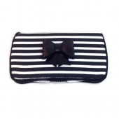 Black and white stripes Savannah Baby wipes case