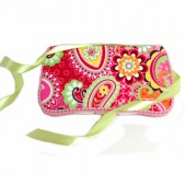 Paisley Pink Baby wipes case