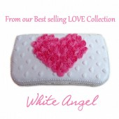 White Angel Travel wipes case