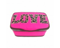 NEW!! Wild Love Pink - Nursery Wipes Case