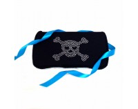 Bling Skull in Black- Bling Wipes Case