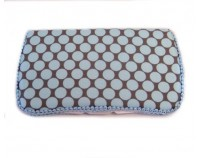 Blue dots Bloom AB-17- Signature Wipes Case