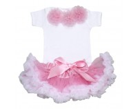 Cotton Candy Baby Pink Tutu Set