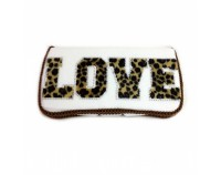 NEW!Wild LOVE White -Travel Wipes Case