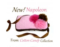 Cotton Candy Napoleon Travel Wipes Case