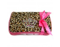 NEW! Cheetah with Bling Crown- Bling Wipes Case