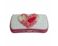 NEW! Multi Love White -Travel Wipes Case