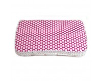 NEW!! Pink  Lollipop AB-61- Travel Wipes Case
